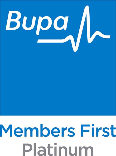 Bupa members first Logo